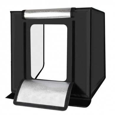 PULUZ PU5060 60cm plegable portátil 60W 5500K luz blanca Photo Lighting Studio Shooting tienda