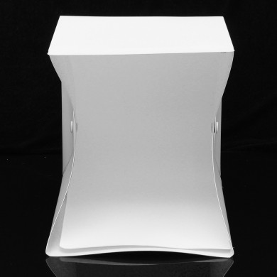 25x23x25cm Photo Studio LED Illuminazione Scatola Fotografia Sfondo Mini Light Room Tenda da tiro portatile