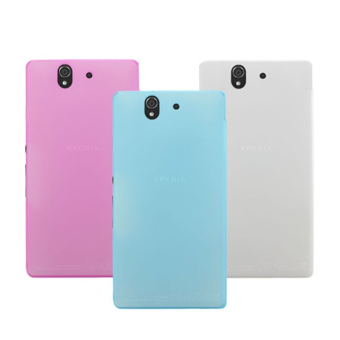 Snow Jade Clear Matte Protective Case For Sony L36H Xperia Z C6603