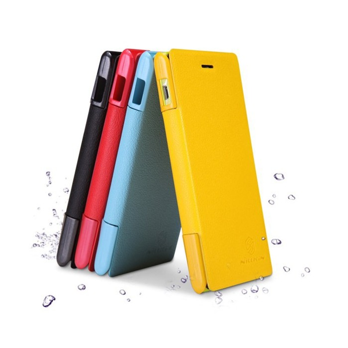 NILLKIN Fresh Series Protective PU Leather Case for Sony Xperia M
