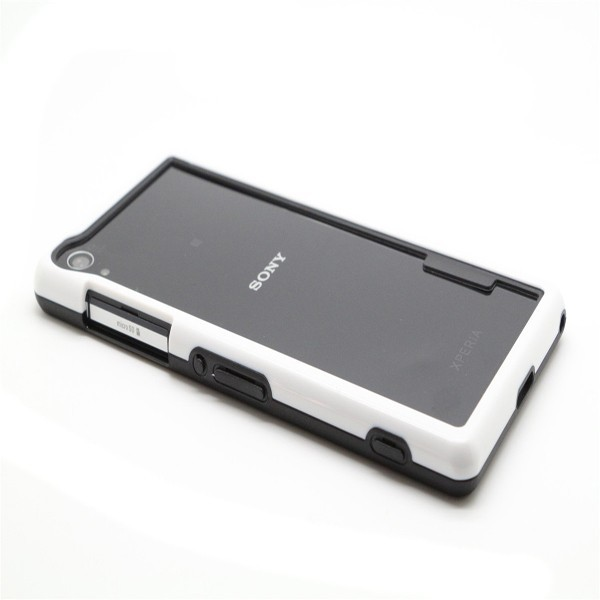 Dual Color PC TPU Bumper Frame Protective Case For Sony Z2