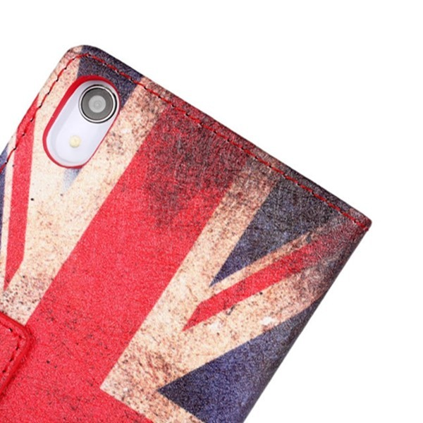 United Kingdom Flag Filp Leather Protective Case for SONY Xperia Z2