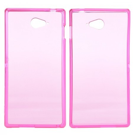 Soft TPU Protective Back Case Cover For Sony Xperia M2 S50h