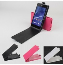 Up-down Flip Leather Protective Case For SONY Xperia Z2