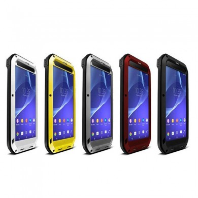 Waterproof Shockproof Dustproof Metal Case Cover For Sony Xperia T2