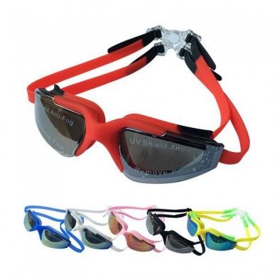 Uv Protection Swimming Goggles Anti Fog Soft Silicone Swimming Glasses