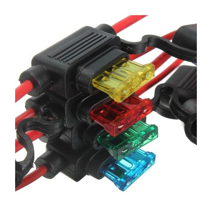 30 AMP 30A MICRO MINI  AUTO CAR BLADE FUSE FUSES WIRE WIRING CABLE  QTY 20