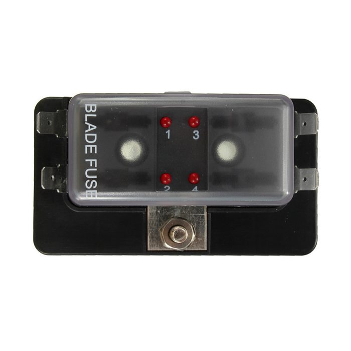 car fuse box blown 4 way blade fuse box holder ato car boat circuit led blown warning  blade fuse box holder ato car boat