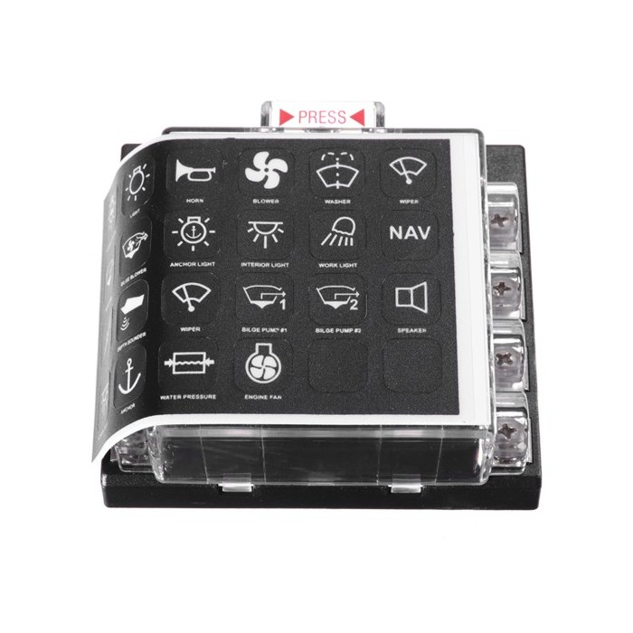 JZ5503 Jiazhan Car 8 Way Air Condition Fuse Box 8 Road Auto Circuit on