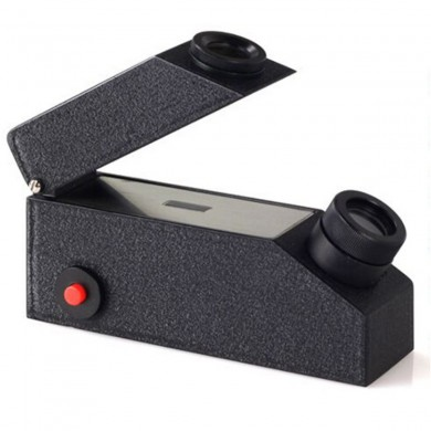 1.30-1.81RI Rang Gemstone Refractometer Built-in Gem Tester