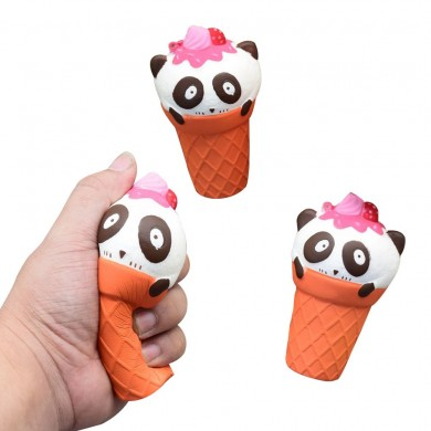 1PC Cute Panda Ice Cream Slow Rise Squeeze Squishy Healing Fun Kids Toy Подарочный стресс Stretch