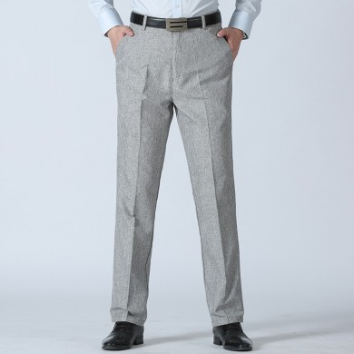 Men's Summer Breathable Linen Casual Pants