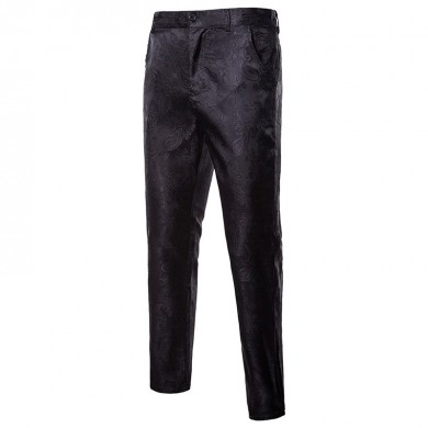 Mens Jacquard Casual Dress Pants