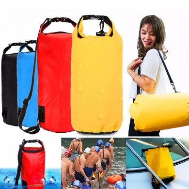 20L Waterproof Bag Storage Dry Pack Camping Hiking Swimming Rafting Kayak Float Pouch