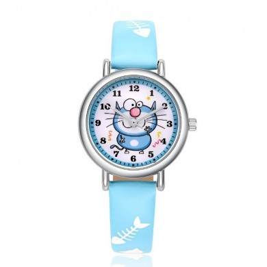 KEZZI 1706 Fashion Children Quartz Watch Cute Candy Colors Boys Girls Watch
