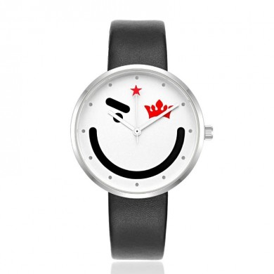 KEZZI 1704 Fashion Children Quartz Watch Cute Smile Face Boys Girls Watch