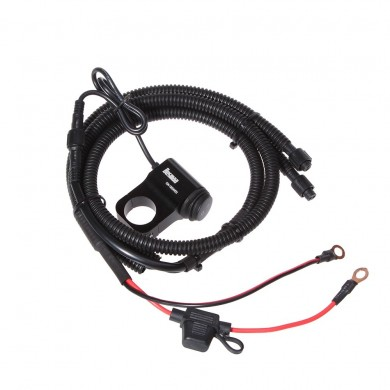 BOSMAA MK2W 12V Motorcycle Led Light Switch Wire Harness ATV Handlebar Fog Spotlight On Off Switch