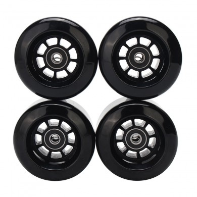 4PCS / Set 80x44mm Blank Pro Longboard Skateboard Wheels 80A