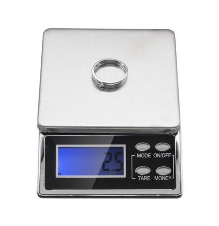 500/0.1g Fashion Precision Mini Palm Size Electronic Scale Portable Scales for Lab Cooking Kitchen
