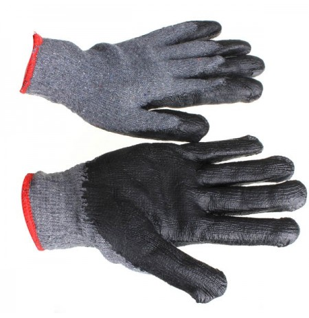 Loskii LG-GA4 Non-skid Latex Gardening Gloves Labor Safety Working Gloves