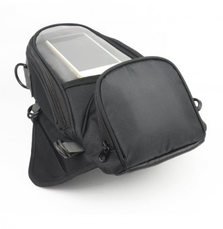 Multi-functional Motorcycle Touchscreen Tank Saddlebags Side Waterproof  Magnetic Navigation