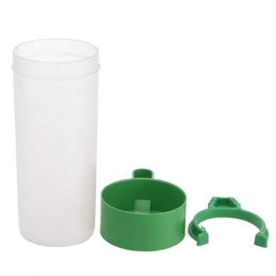 Parrot Bird Drinker Feeder Watering Plastic With Clip For Aviary Budgie Cockatiel