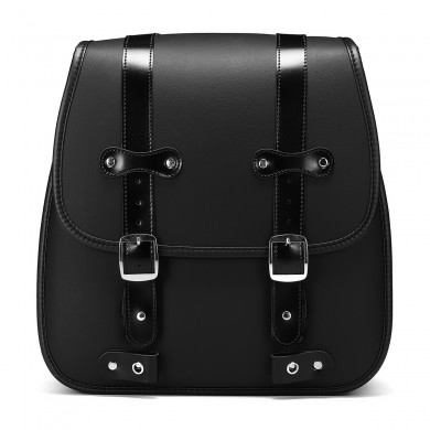 Motorcycle PU Leather Saddlebags For Harley Davidson 883 Rear Large Size