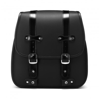 Motorcycle PU Leather Left Side Saddlebags For Harley Davidson 883 35X35X18cm