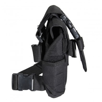 Tactical Puttee Thigh Revolver Left Leg Holster Pouch Holder Caccia Borsa