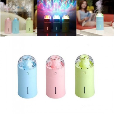Mini 175ml Colorful USB portatile LED Night lampada Proiettore umidificatore con effetto luce scenica