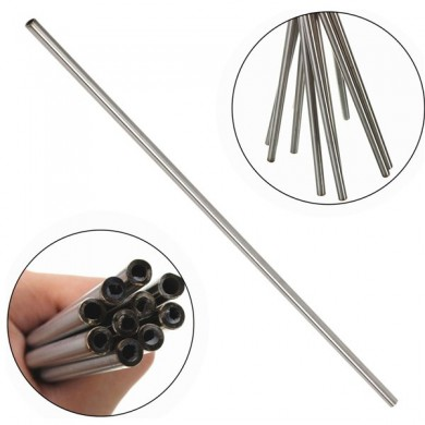 5pcs OD 10mm x 8mm ID Stainless Pipe 304 Stainless Steel Capillary Tube Length 500mm
