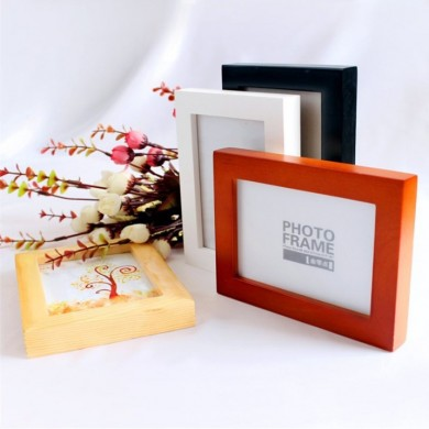8 Inch Hanging Picture Frames Wood Photo Frame Photo Wall Home Wall Decor Pendant Type Frame