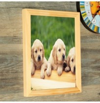 10 Inch Hanging Picture Frames Wood Photo Frame Photo Wall Home Wall Decor Pendant Type Frame