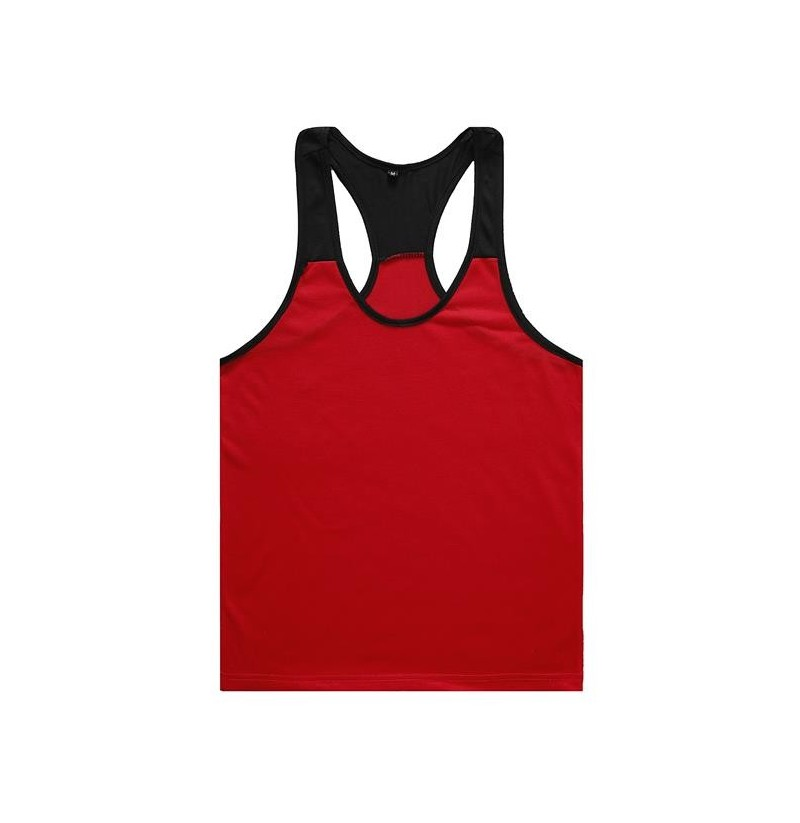 Fitness Training Sports Tank Top (Color: White & Black, Size: XL) фото