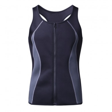 Homens Sweat Sauna Neoprene Shaper Vest Muscle Workout Regata