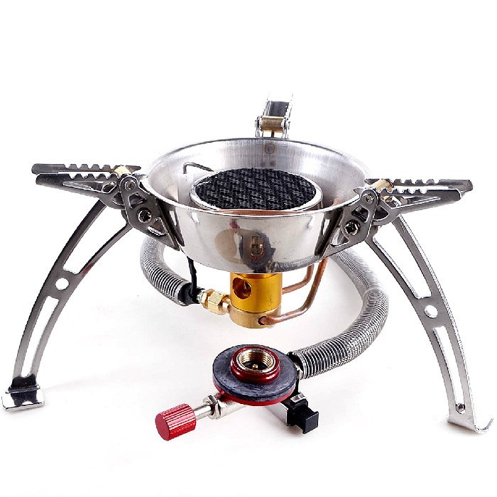 LAOTIE 3500W Infrared Ray Cooking Stove Portable Windproof Camping Picnic Gas Burner Furnace
