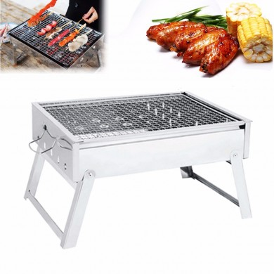IPRee® Portable Folding Holzkohle Herd Barbecue Backofen Kochen Picknick Camping Grill