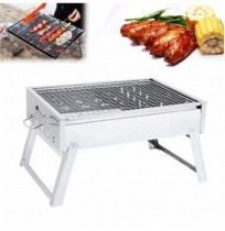 IPRee® Portable Folding Charcoal Stove Barbecue Oven Cooking Picnic Camping BBQ Grill