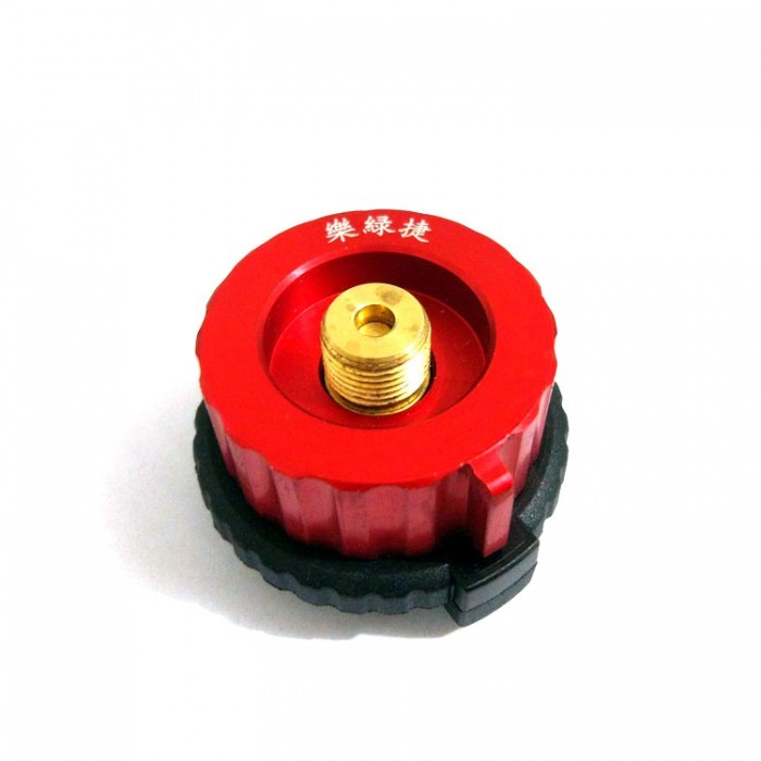 Camping Burner Conversion Head Tank Gas Bottle Adapter Stove Connector CS