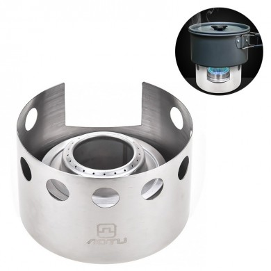 Mini Alcohol Stove Outdoor Camping Picnic Cooking Stove Ultra-light Portable Combustor Furnace