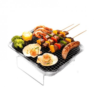 Xiaomi 2-3 People Portable BBQ Barbecue Grill Stainless Steel Cooking Stove Outdoor Camping Picnic