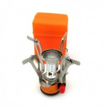3000W Outdoor Portable Mini Gas Stove Butane Propane Canister Cooking Burner Camping Picnic Furnace