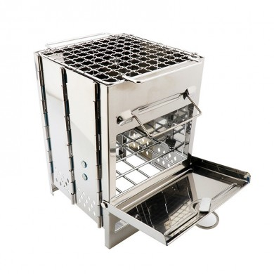 IPRee®OutdoorBBQHolzkohleofenGrillKochen Brenner Ofen Camping Picknick