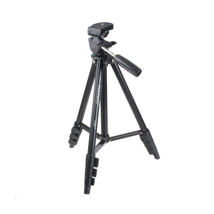 Yunteng VCT-680 Portable Camera Tripod Stand With Portable Bag