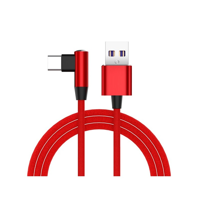 Bakeey 5A Supper Charge OPPO VOOC Dash Charge Type C Charging Data Cable 1M For Huawei Oneplus (Color: Silver) фото