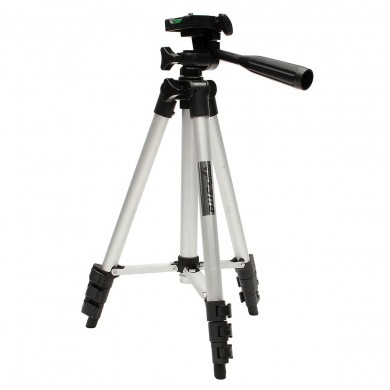 TF-3110A Metal Extendable Tripod Stand Monopod For Canon SONY Camera Camcorder