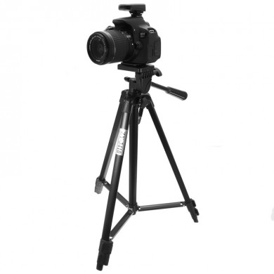 Portable Light Weight Aluminum Alloy Photographic Tripod for DSLR Camera Y-3410