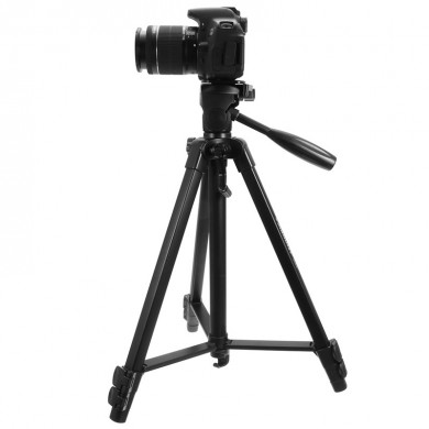 Professional BY558S Heavy Duty Aluminum Alloy Photographic Tripod for DSLR Camera