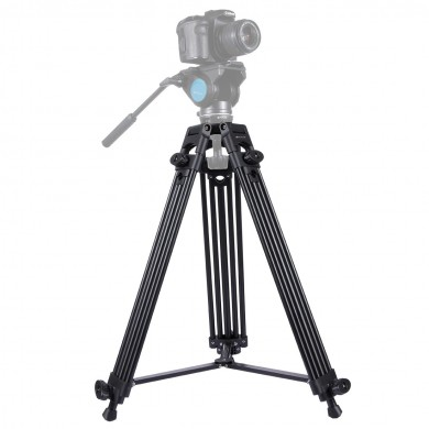 PULUZ PU3003 Professional Heavy Duty Aluminum Alloy Tripod for DSLR SLR Camera Video Camcorder