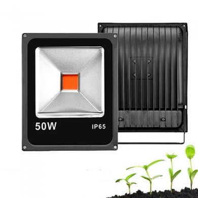 20W 30W 50W Full Spectrum COB LED Grow Planta Luz de inundación Impermeable para Vegetable Flower AC85-265V
